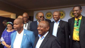 ANC-president-Cryril-Ramaphosa-and-the-entire-top-6-officials-at-the-Vha-Venda-Royal-Palace-780×405